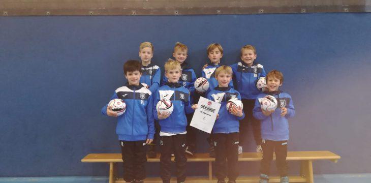 Toller 5. Platz der U8-Junioren beim Regiocup des 1. FC Nürnberg