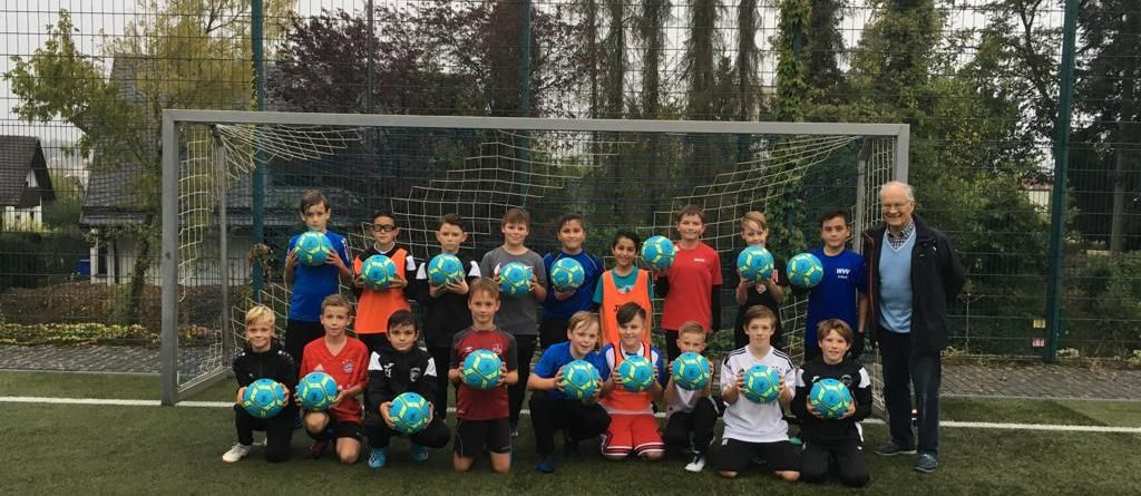 Bürgerstiftung Höchberg unterstützt Jugendfußballer