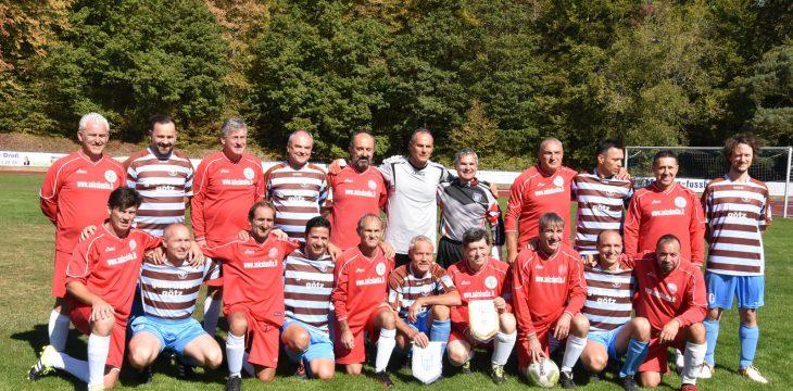 Delegation aus Bastia Umbra beim internationalen AH-Turnier in Höchberg