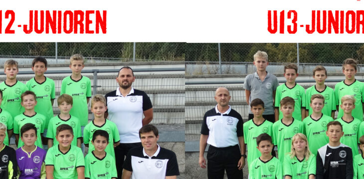 U12 und U13 Meister 2019/2020