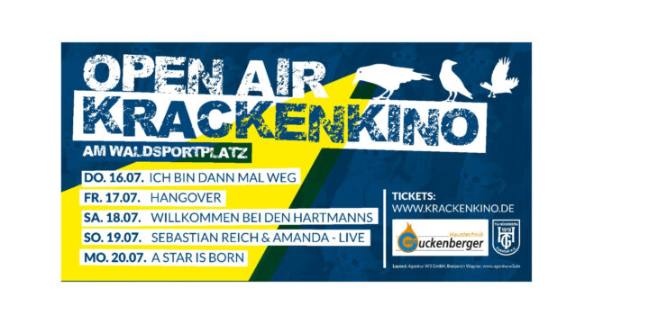 "Open-Air ""KrackenKino"" am Waldsportplatz"
